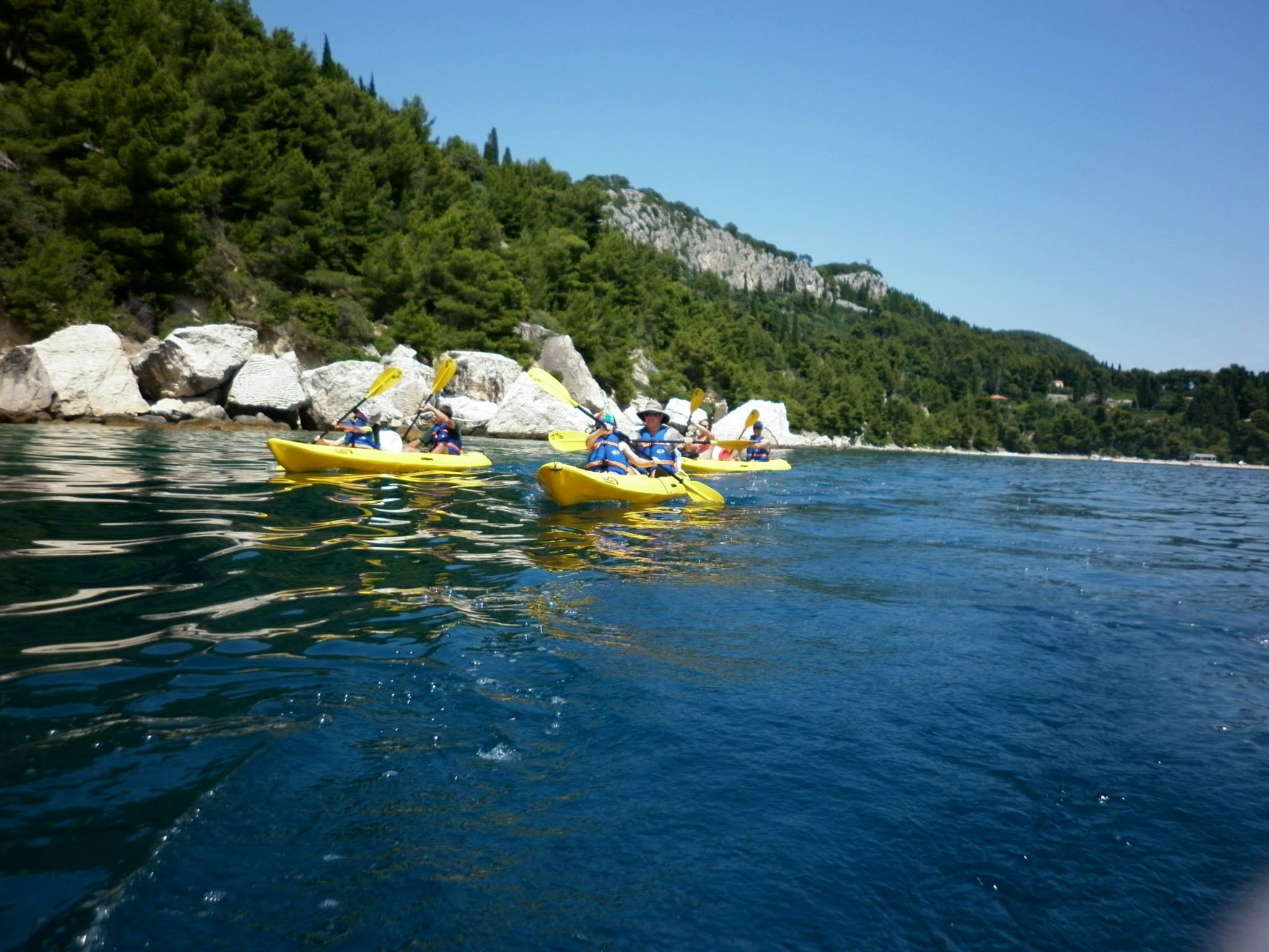 Sea kayaking percorsi in kayak da mare a spalato split for Splity 3 en 1